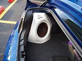 Ford - Mustang 1X10 2005-09 Driver Sub box Subwoofer enclosure