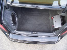 "Acura - 2004-08 TL 10"" DRIVER SIDE SUB BOX SUBWOOFER ENCLOSURE"