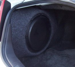 "Infiniti - G35 Sedan 1x10"" Enclosure Sub box Subwoofer enclosure"
