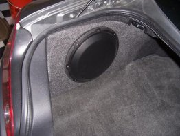 "Infiniti - G35 Coupe 1X10"" Sub box Subwoofer enclosure"