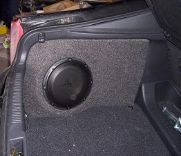 "Toyota - Celica 1X10"" Enclosure Sub box Subwoofer enclosure"