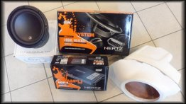 370Z Corner Stage3 Package. Stereo system JL AUDIO 10w3v3-4 + HERTZ AUDIO HDP4 + HSK165XL