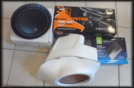 370Z Corner Stage2 Package. Stereo system JL AUDIO + HERTZ AUDIO