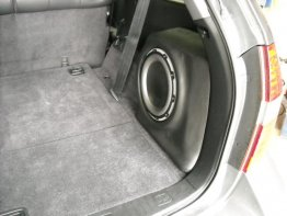 "Acura - MDX 01-06 10"" PASS SIDE SUB BOX MAGIC BOX Sub box Subwoofer enclosure"