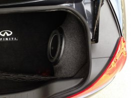 "Infiniti - G37 Coupe Q60 1X10"" MAGIC BOX Sub box Subwoofer enclosure"
