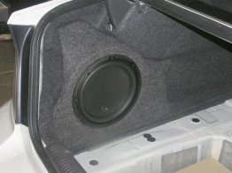 Subaru - 2005+ Legacy Sedan 1x10w3v3 W/Sub LOADED Driver Sub box Subwoofer enclosure