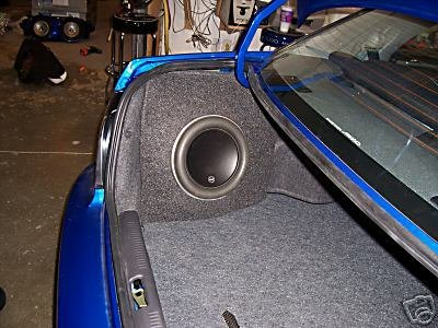 Subaru - 02-07 Impreza/WRX/Sti 1X10W7 W/SUB LOADED Sub box Subwoofer enclosure