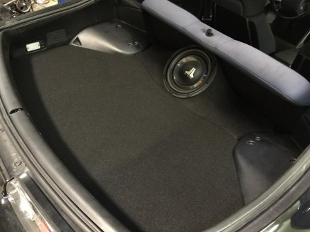 "Toyota - 93-98 Supra 1x10"" MagicBox Enclosure Sub box Subwoofer enclosure"